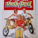 Vintage advertising for motorcycle rental / MED-PED - 70's