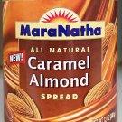 Maranatha Caramel Almond Butter No Stir 12 oz Creamy nut spread snack gourmet