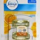 Febreze Set & Refresh Clean Zest REFILLS home kitchen citrus scent air freshener Lemon fragrance