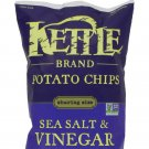 KETTLE Brand Potato Sea Salt & Vinegar salty snack 8.5 oz classic Non-GMO food