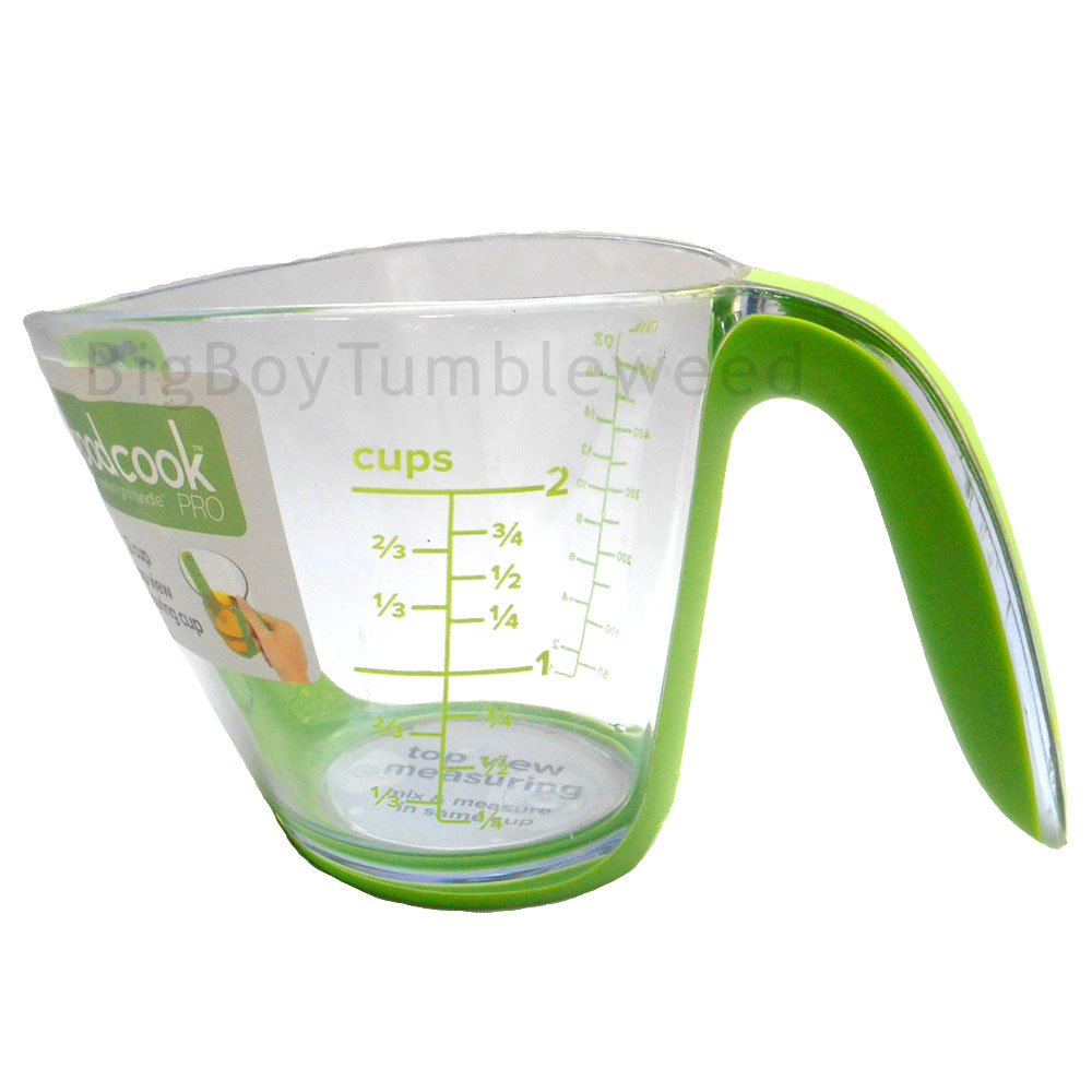 Good Cook Pro 2 cup or 500mL top view liquid measuring cup comfort mixing food Kitchen utensil tool