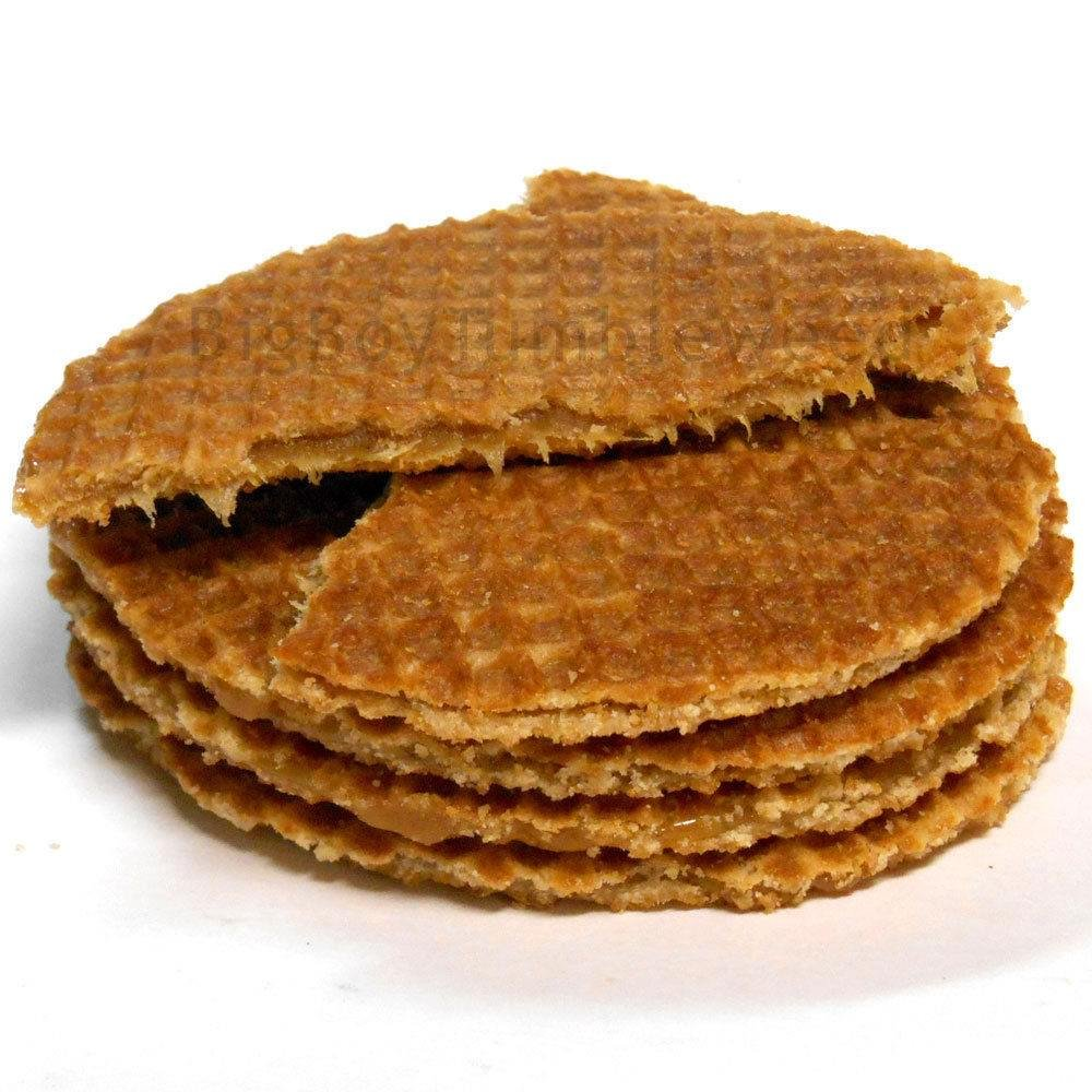 DAELMANS Jumbo Dutch Caramel waffle 8ct coffee cookies biscuit STROOPWAFELS snack wafer gourmet