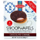 DAELMANS Chocolate Dutch Caramel waffle 8ct coffee cookies biscuit STROOPWAFELS snack wafer gourmet