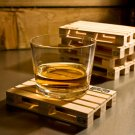 Palette-It : Set of 4 design pallet coasters
