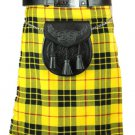 New  Men's 46 Size McLeod of Lewis Scottish Highland Men Traditional Tartan Kilt