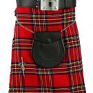 New 42 Size Men's Traditional Royal Stewart Tartan Kilts Scottish Highland Tartan kilt