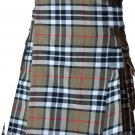 30 Size Scottish Highlander Active Men Modern Pocket Camel Thompson Tartan Kilts