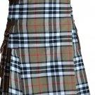 48 Size Scottish Highlander Active Men Modern Pocket Camel Thompson Tartan Kilts