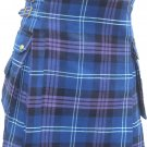 New 58 Size Scottish Highland Wear Active Men Heritage/Pride of Scotland Tartan Modern Pocket Kilt