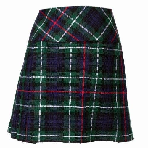 52 Size New Ladies Mackenzie Tartan Scottish Mini Billie Kilt Mod Skirt