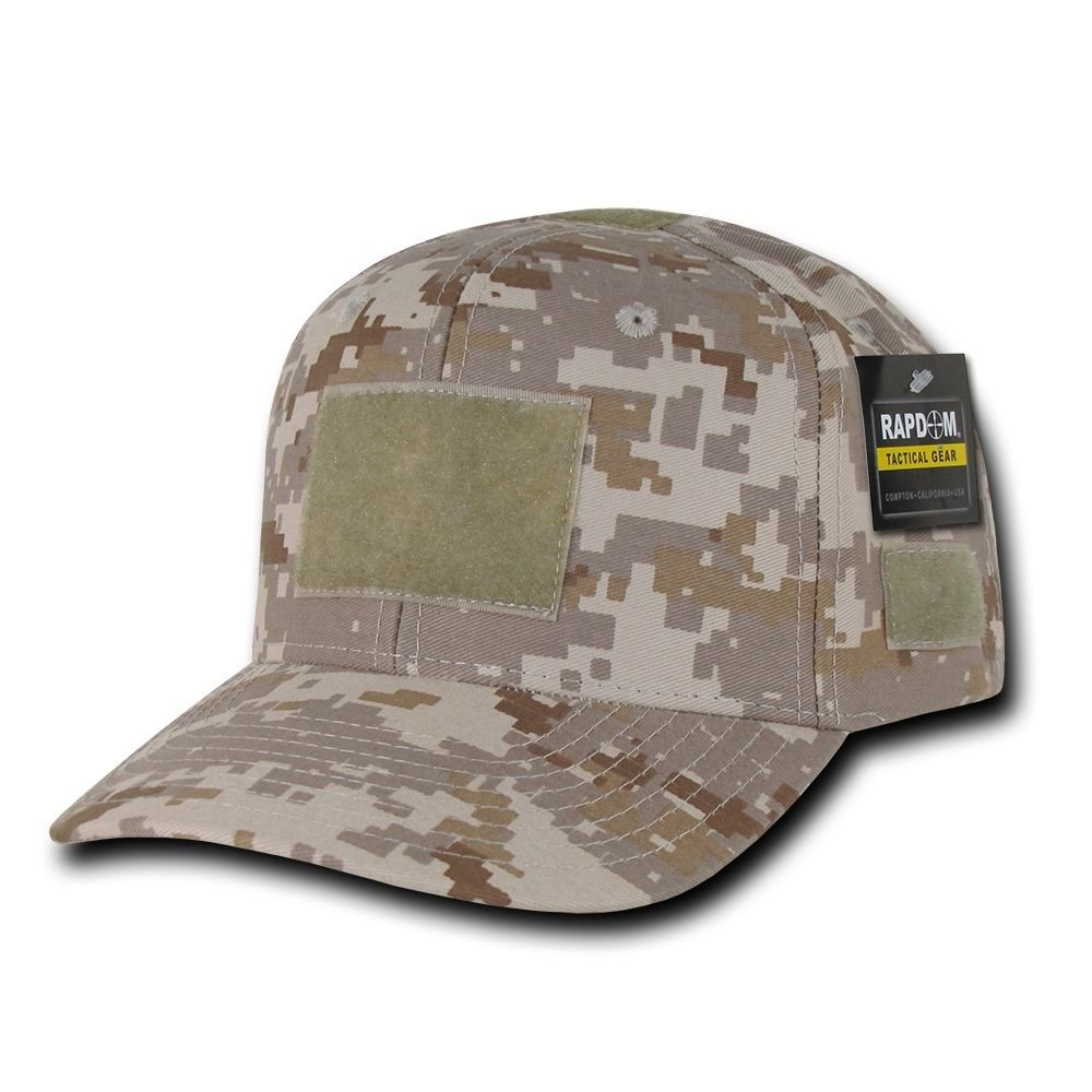 Desert Digital Camo Tactical Operator Contractor Military Patch Cap Hat