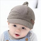 Spring tide 3-6-12 months infant hat and baby cotton Beret peaked cap children