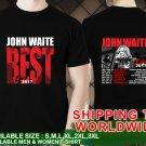 John Waite Tour Dates 2017 Unisex Black T Shirt Size S