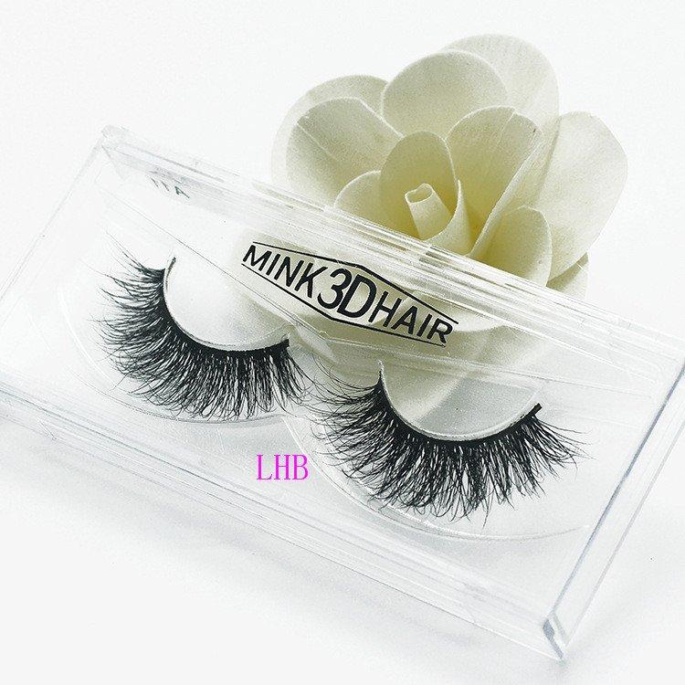 2017 New Mink 3D Hair Eyelash Premium Quality  fake Eye Lashes Extension