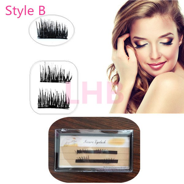 Sexy style Magnet False Eyelashes Magnetic Lashes Fake Eyelashes
