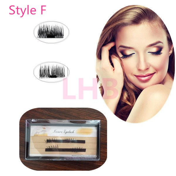 Magnet False Eyelashes Magnetic Lashes Fake Eyelashes  style F