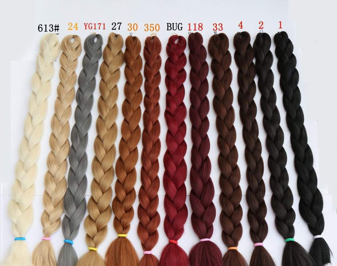 X pression braids, jumbo braids 165g 41 inch Ultra braid 1pcs packed
