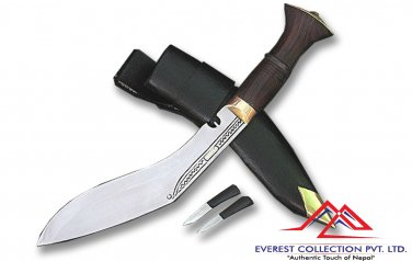 "8"" Blade Mini Jungle Kukri - Authentic Gurkha Khukuri knife,knive,handmade knife"