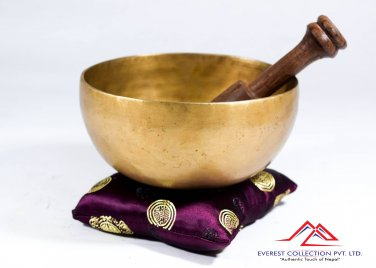 "Singing bowl-5"" handmade singing bowl from Nepal,yoga bowl,tibetan singing bowl"