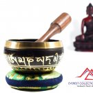 "4""mantra singing bowl-tibetan bowl ,yoga bowl,meditation bowl,bowl from Nepal"