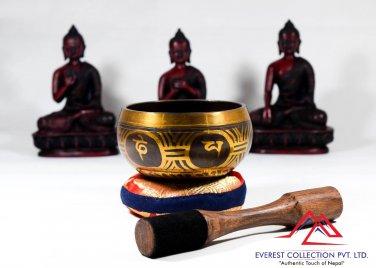 "4"" antique singing bowl-yoga bowl,realaxation bowl,tibetan bowl,meditation bowl"