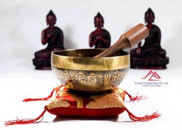 . 5 inches hanmade singing bowl-singing bowl,meditation bowl,healing bowl,tibetan