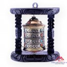 Beautiful Tibetan Hand Made Wall Hanging Prayer Wheel-Wheel-8 Auspicious symbols