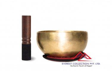 """6"""" Superb B Crown Chakra Old Tibetan Singing Bowl, Meditation bowls,Hand beaten singing bowl"""