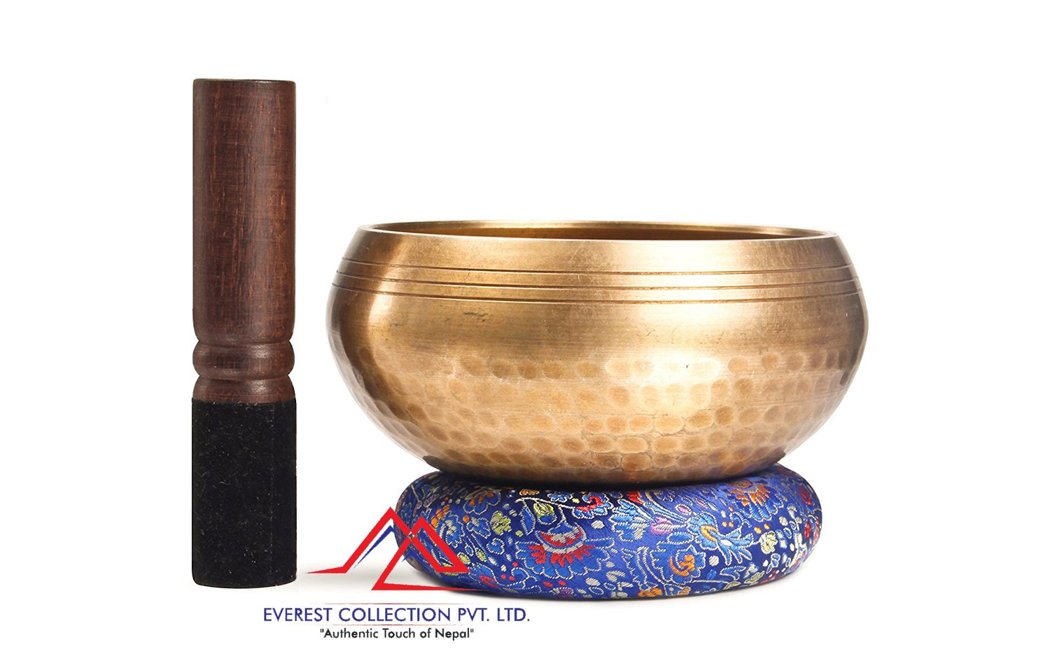 "5.5 ""Tibetan Buddhist Singing-Hand beaten singing bowl,Peace Release,Free Cushion and Striker"