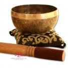 5.5 inches mantra carved singing bowl-handmade singing bowl-Healing bowls,yoga bowls