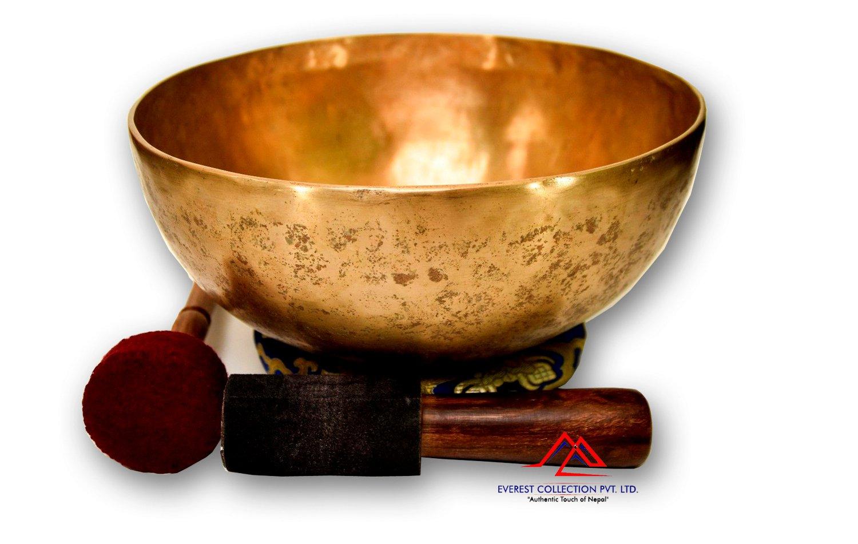 """11""""Handmade singing bowl-singing bowl from Nepal-meditation bowl-Master healing singing bowl"""