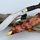 10 inches Blade Chainpure kukri-khukuri-gurkha knife-handmade kukri-knives,Nepal