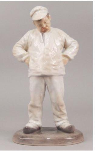 Porcelain Figurine of Labor