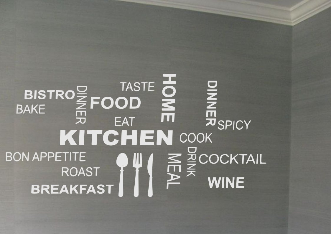 Kitchen Slogans Small 18x25(inch)
