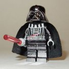 **NEW** LEGO Custom Printed CHROME DARTH VADER Gun Metal Star Wars Minifigure