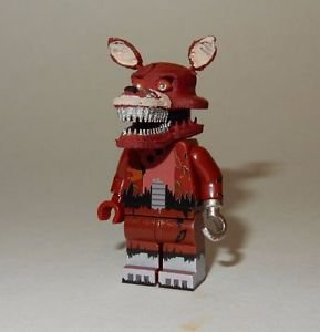 **NEW** LEGO Custom Printed FNAF - NIGHTMARE FOXY Freddy's Minifigure
