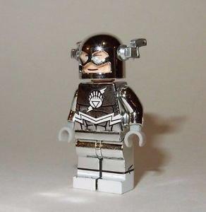 **NEW** LEGO Custom Printed CHROME WHITE LANTERN FLASH Minifigure