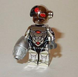 **NEW** LEGO Custom Printed CHROME CYBORG NEW 52 Minifigure