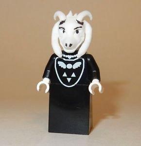 x1 **NEW** LEGO Custom Printed UNDERTALE ASRIEL DREEMURR Video Game Minifigure