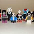 x8 **NEW** LEGO Custom Printed UNDERTALE Video Game Minifigure Lot