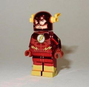 **NEW** LEGO Custom Printed CHROME FLASH Minifigure