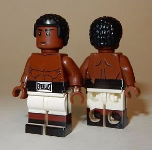 **NEW** LEGO Custom Printed MUHAMMAD ALI Minifigure