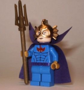 **NEW** LEGO Custom Printed OCEAN MASTER DC Universe Minifigure