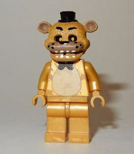**NEW** LEGO Custom Printed FNAF - GOLDEN FREDDY Five Nights Minifigure