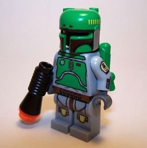 **NEW** LEGO Custom Printed CLOUD CITY BOBA FETT Replica Star Wars Minifigure