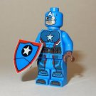 **NEW** LEGO Custom Printed SDCC 2016 Steve Rogers CAPTAIN AMERICA Minifigure