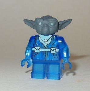 **NEW** LEGO Custom Printed Star Wars YODA SPIRIT GHOST Minifigure