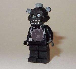 **NEW** LEGO Custom Printed FNAF - NIGHTMARE SHADOW FREDDY Five Nights Minifig