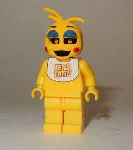 **NEW** LEGO Custom Printed FNAF - TOY CHICA Five Nights At Freddy's Minifigure