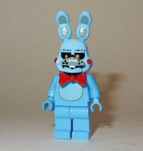 **NEW** LEGO Custom Printed FNAF - TOY BONNIE Five Nights At Freddy's Minifigure
